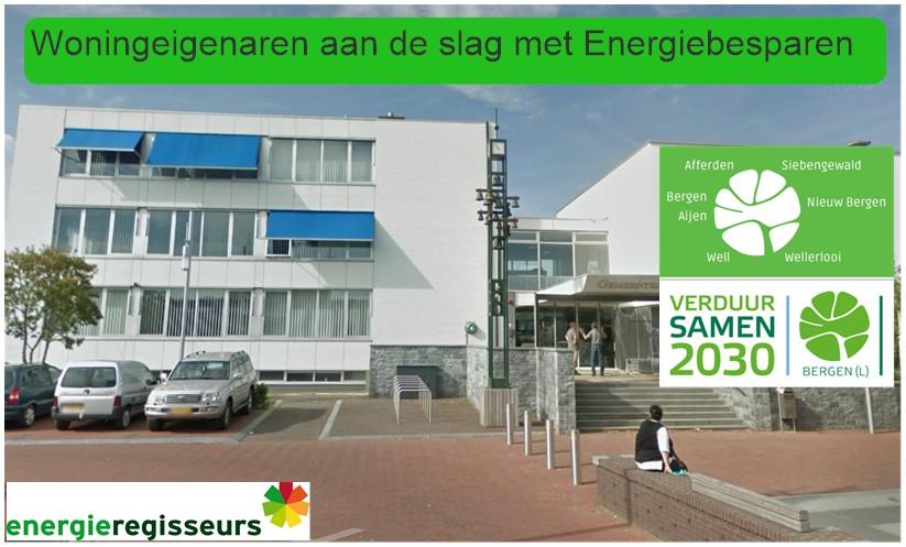 Energieregisseurs ondersteunt Gemeenten